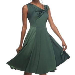 GMG Noelle Twist Neck Satin Dress size 0